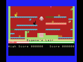 Manic Miner - obviously this is an adjacent platformer